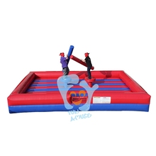 for adult interesting inflatable fighting soccer arena
