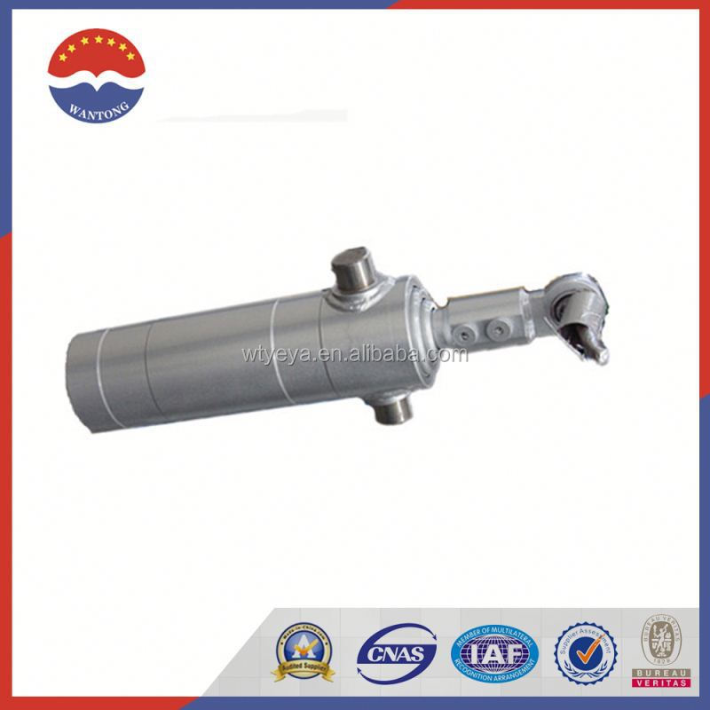 Hot Sale Front Tipping Telescopic Hydraulic Cylinder Used For Dump Truck