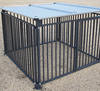 chain link wire outdoor dog kennels