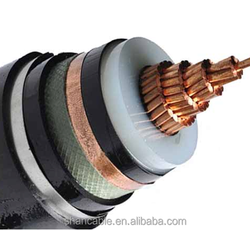 medium and low voltage electric wire cable Single core copper conductor aluminum 3 core PVC insulated power cable 0.6/1 - 11kV