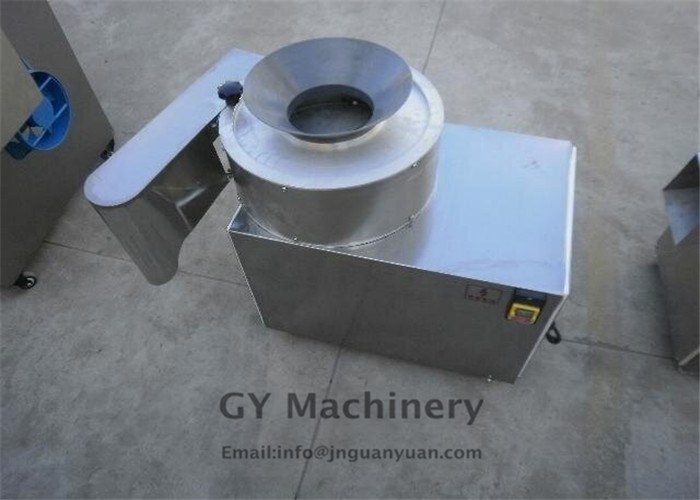 Industrial potato chips making machine / small scale semi-automatic potato chips production line