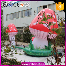 Hot-sale air blown mushroom inflatable for party decoration