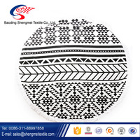 Large Round Beach Towel and Beach Blanket