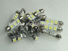 39mm Super Bright White LED festoon bulbs 3 LED 5050 CHIP Interior Light LED Bulbs 269 C5W