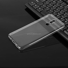 Phone accessories transparent ultra thin soft simple flexible TPU phone case cheap cover for huawei MATE 7 3C PLAY