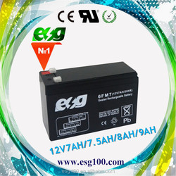 Rechargeable Sealed Free Maintenance Lead Acid Battery 12V 7AH