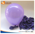 High Quality Latex Round Balloon, Size of 7 inch, Light Purple Helium Balloon