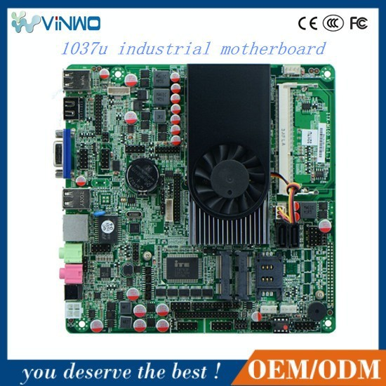 DEM/ODM 1037u industrial motherboard Using Intel NM70 High-speed Chipset, max to 16G