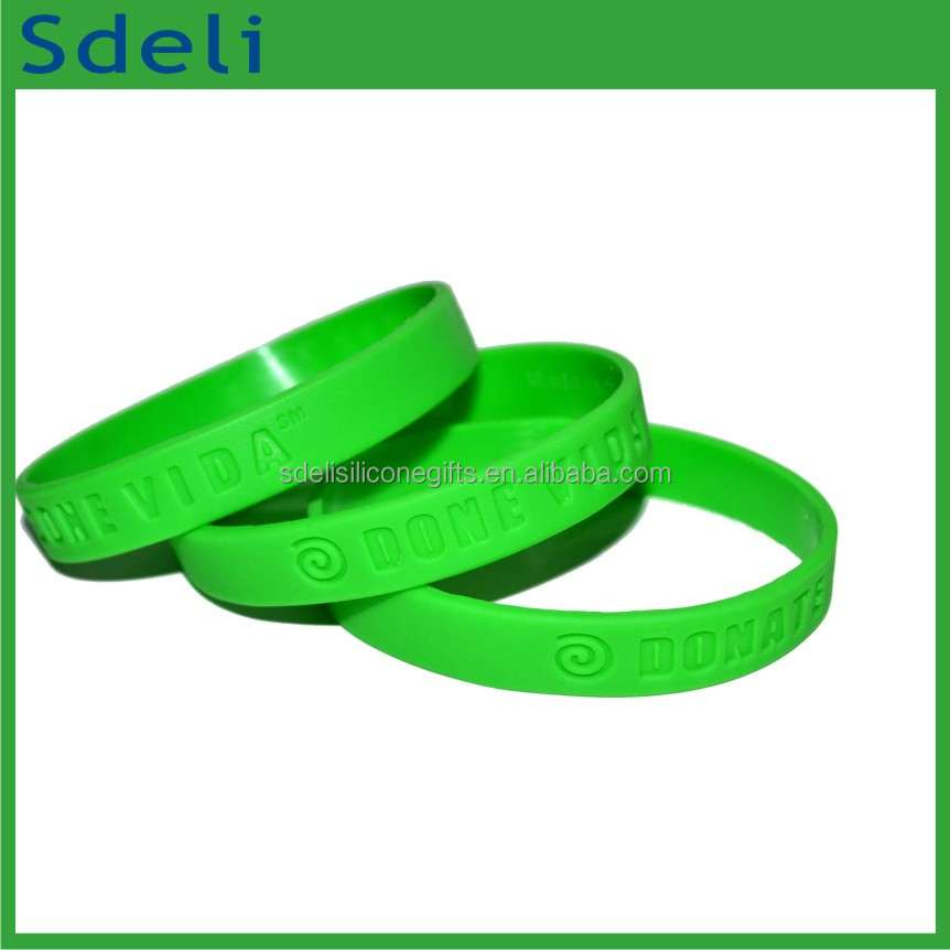 Fashion jewelry adults silicone wristbands engraved silicone bracelets for men