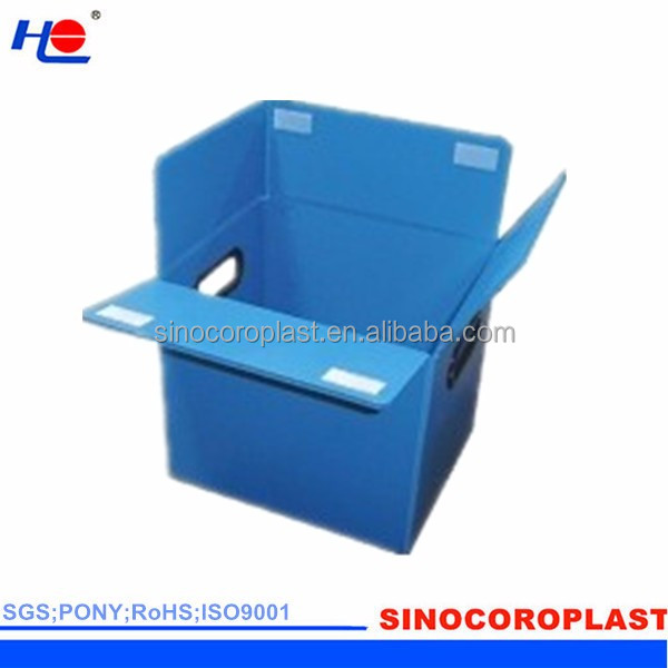 Plastic Corfluted Folding Box