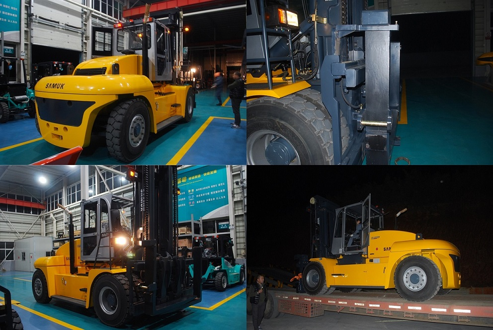 14ton Forklift Truck with Imported Engine