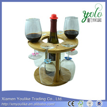 2016 Standard and Professional Eco-friend Luxury wholesale bamboo wine rack