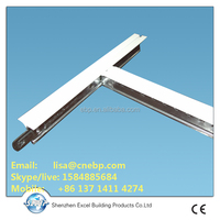 slotted tee / plain T/ groove T grid for ceiling