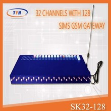 32 ports gsm voip gateway/3g sim box/multi port gsm sim box