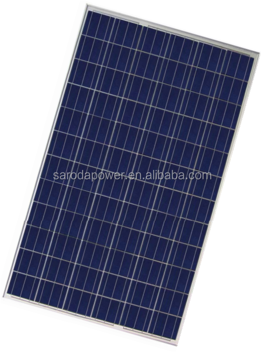 SARODA High Efficiency 250W Poly Solar Panel Manufacturer in China