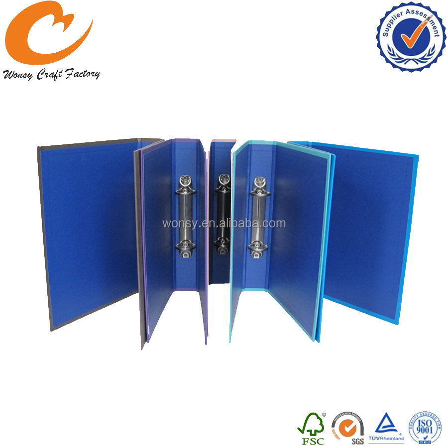 Alibaba china hot selling customized pp 1 ring binder