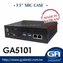 GA5101 - 3.5 Inch Single Board Computer Fanless Chassis Form Factor