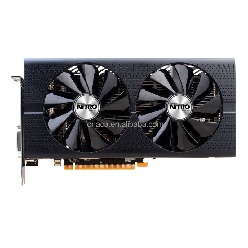 AMD Graphics Card Sapphire Radeon NITRO+ RX470 (4GB) Video Card for Gaming