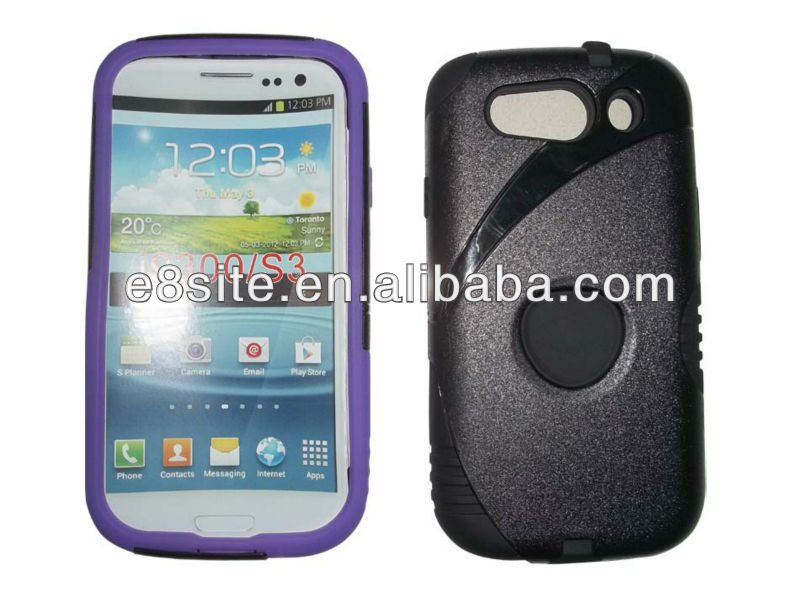 For SamSung i9300 Galaxy S3 Newest Combo Phone Cover