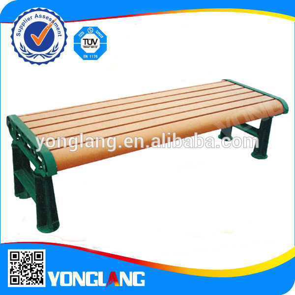 Custom high qualiyu park patio wooden bench parts