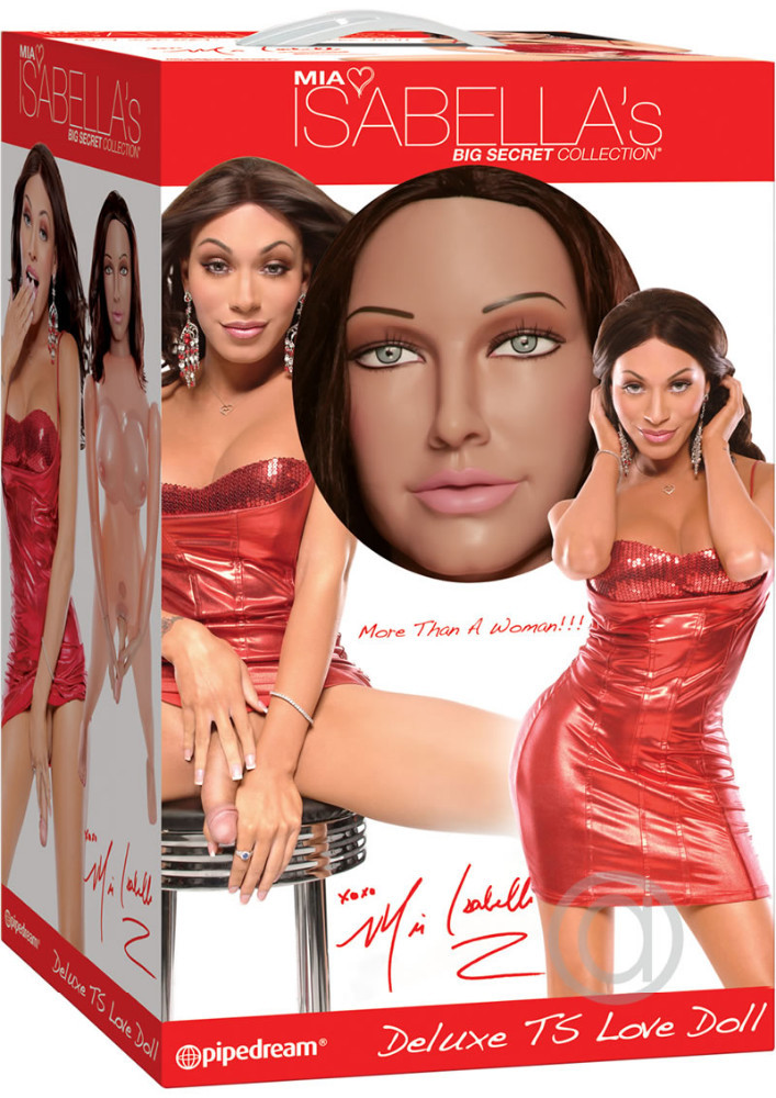 Special Offer from 270 euro for only 220 euro - New Deluxe Inflatable Doll TRANS