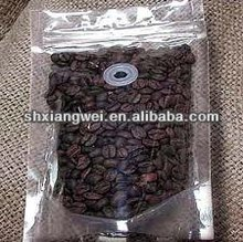 2012 best-selling Eco-friendly plastic bag with zipper for coffee beans