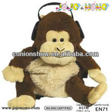 new design one piece backpack monkey school backpack