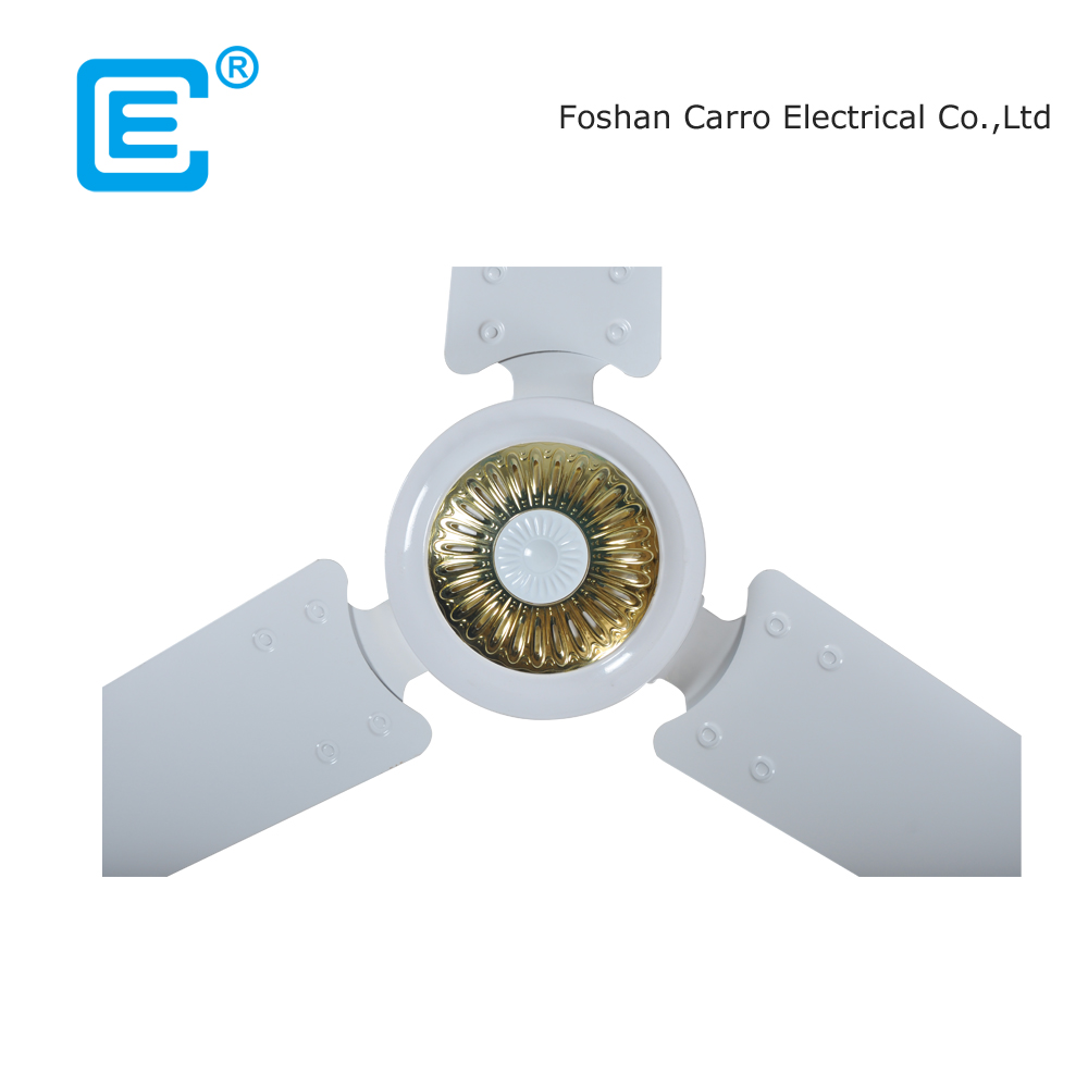 Factory supply low power ac dc double use dc solar operated ceiling fan