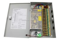 CCTV Camera Power 12V CCTV 10A Security Box Supply DC 9 Ports Distribution box