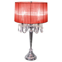 high quality modern hotel decorate crystal table lighting/ luxury new crystal table light/nice elegant clear crystal table lamp