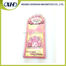 Gold supplier china magnetic mini memo pad fridge magnet