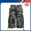 wholesale cotton manufacturing camouflage mens cargo shorts