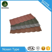 Professional Nosen colorful stone-coated metal roofing tiles,metal roofing sheet with high quality