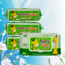 Private Label 100% biodegradable and organic Baby Wet Wipe