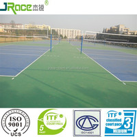 excellent ball bounce outdoor volleyball court flooring