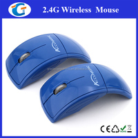 Personalized Wireless Foldable Arc Computer Mouse For PC