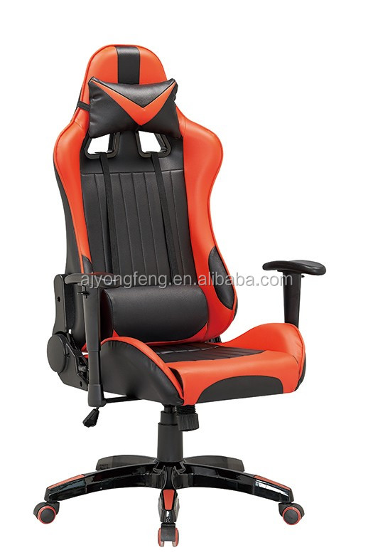 2017anji new style adjustable recliner racing gaming office chair