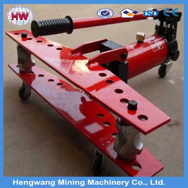 SWG series manual hydraulic pipe bender machine/hand pipe bender used for Stainess Steel Bending