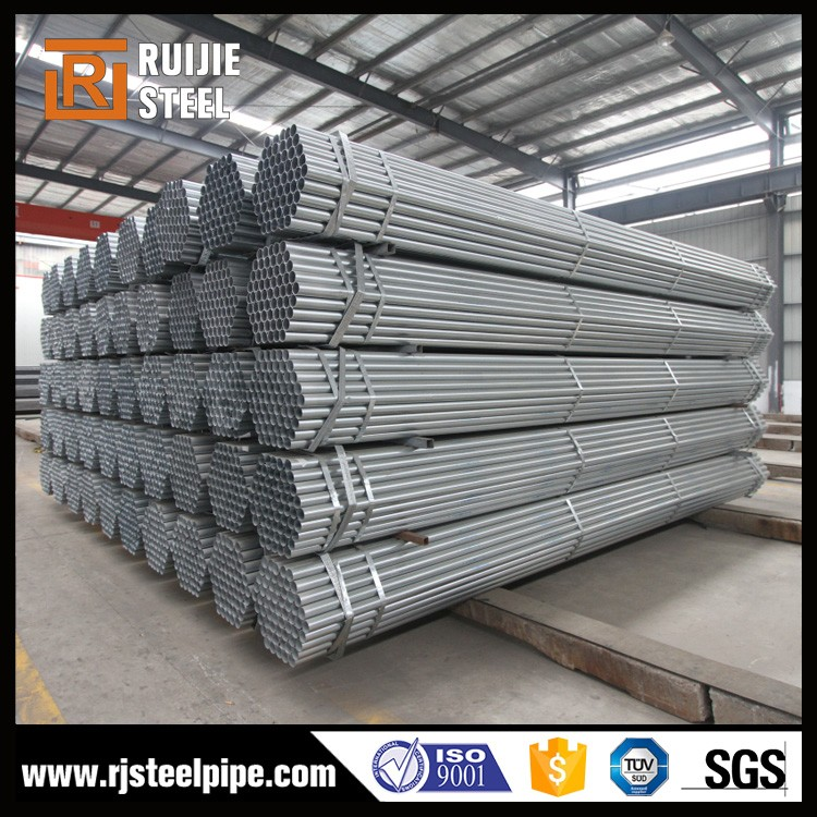 scaffolding hot dipped galvanized steel pipe,hot sales galvanized steel pipe/tube middle east market in bulk