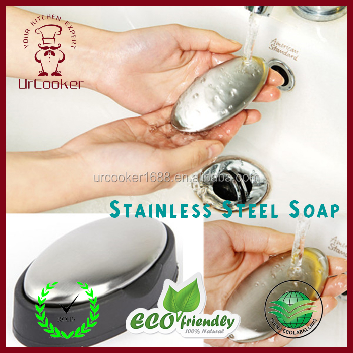 Protable Magic Soap Odor Remover Stainless Steel Soap/Odor Remover soap