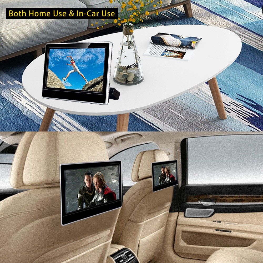 Factory dvd rear headrest multimedia system player mount