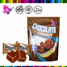 Chocolate Bar Shape chewing Fruit Chews Soft Candy