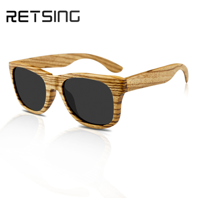 Bamboo Sunglasses Custom Designer Cheap Bamboo Wood Sunglasses