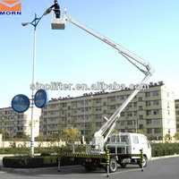 CE articulated pickup truck boom lift
