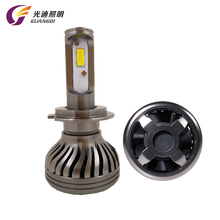 Ce Rohs Approval Eti Chip 4000Lm Headlight H7 Led Light Car