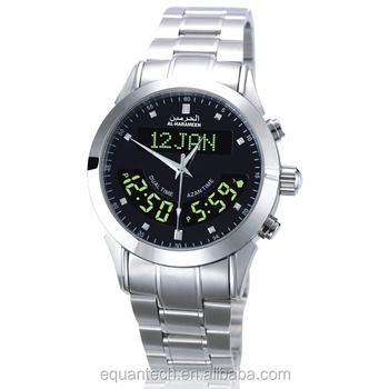 hot sales prayer azan watch HA-6102 for muslim prayer islamic and arabic prayer time