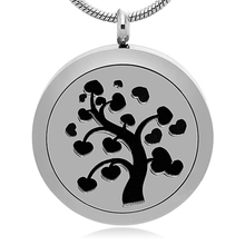 Accept OEM & ODM Design Family Tree Aromatherapy Diffuser Necklace Locket