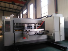 Automatic high speed flexo printer with sloter attachment for corrugated carton box(lead edge feeding)