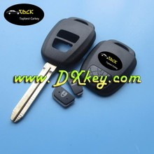 toyota key Camry car remote key 2 button remote key shell TOY43 with logo