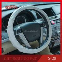 Fashionable Gray Car steering Wheel Cover 3 spoke wheel cover for all cars